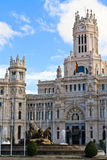 cibeles palacio de Μαδρίτη Στοκ Φωτογραφία