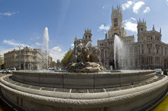 CIbeles Pano Royalty Free Stock Images