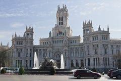 cibeles plaza de Μαδρίτη Στοκ φωτογραφία με δικαίωμα ελεύθερης χρήσης