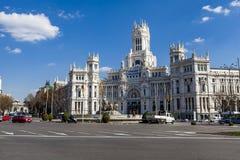 cibeles plaza de Μαδρίτη Στοκ εικόνα με δικαίωμα ελεύθερης χρήσης