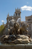 Cibeles portrait zoom Royalty Free Stock Images