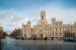 Cibeles`s Palace stock images