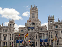 Cibeles sculpture in madrid Royalty Free Stock Image