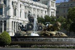 Cibeles springbrunn. Royaltyfri Fotografi