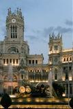 Cibeles square, Madrid Royalty Free Stock Photography