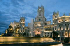 Cibeles square, Madrid Stock Image