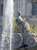 Cibeles Square, Madrid. Details of Cibeles monument,  Madrid - Spain Stock Photos