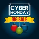 Ciber monday deals design Stock Image