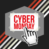 Ciber monday deals design Stock Photography