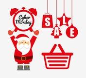 Ciber monday deals design Royalty Free Stock Images