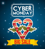 Ciber monday deals design Royalty Free Stock Photo