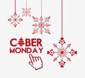 Ciber monday deals design Royalty Free Stock Photos