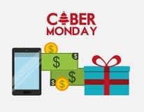 Ciber monday deals design Stock Images