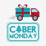 Ciber monday deals design Royalty Free Stock Image