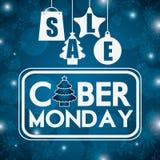 Ciber monday deals design Royalty Free Stock Photography