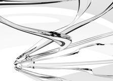 Cible en verre claire de flèche Image libre de droits