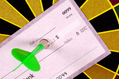 Cible financière Images libres de droits