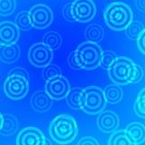 Cibles bleues Photographie stock libre de droits
