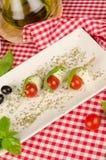 Cibo da mangiare con le mani Mediterraneo Immagine Stock