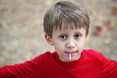 Cibo della lecca-lecca Fotografie Stock