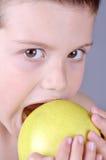 Cibo della mela deliziosa Fotografie Stock Libere da Diritti