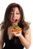Cibo della pizza fotografie stock