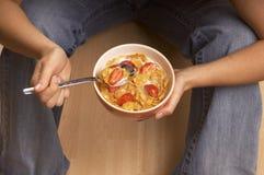 Cibo della prima colazione Fotografia Stock Libera da Diritti