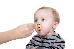 Cibo dolce del bambino fotografia stock