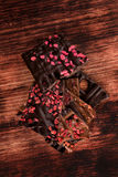 Cibo lussuoso del cioccolato Fotografia Stock