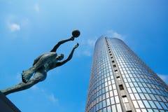 Cibona torn, Zagreb Fotografering för Bildbyråer