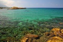 cibory lazurowy morze obraz stock