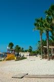 cibory plażowy nissi Zdjęcie Royalty Free