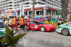 CICAR rally. Stock Images
