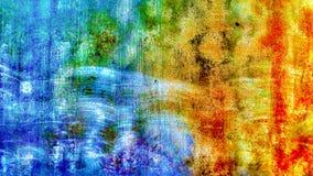 Cicatrice bleue Photographie stock libre de droits