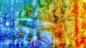 Cicatriz azul Fotografía de archivo libre de regalías
