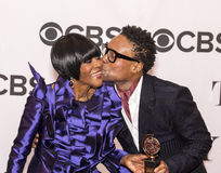 Cicely Tyson and Billy Porter Royalty Free Stock Photo