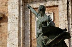Cicerone statue Royalty Free Stock Photos