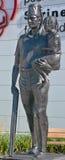 Cicha goniec statua Fotografia Royalty Free
