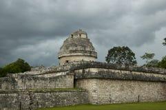 cichen itza obserwatorium Obraz Royalty Free