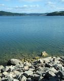 cicho jeziora Zdjęcie Royalty Free