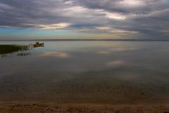 cicho lake Obraz Royalty Free