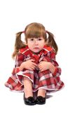 cicho, mały dziewczyny Zdjęcia Stock