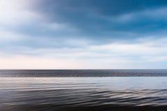 cicho, morze Zdjęcia Stock