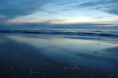 cicho, morze Zdjęcia Royalty Free