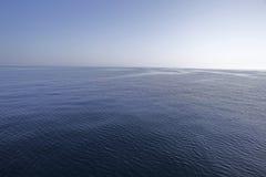 cicho, morze Obrazy Stock