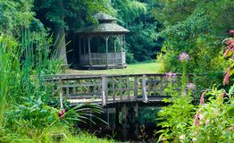 cicho ogrodu Zdjęcie Royalty Free