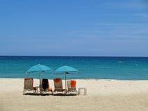 cicho plażowa Zdjęcia Stock