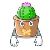 Cichy maskotki gwiazdy kaktus dekoruje w ogródzie royalty ilustracja