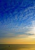 cichy wschód słońca Obraz Stock