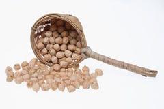 Cickpeas a kind of legume. Vegetable, food Stock Image